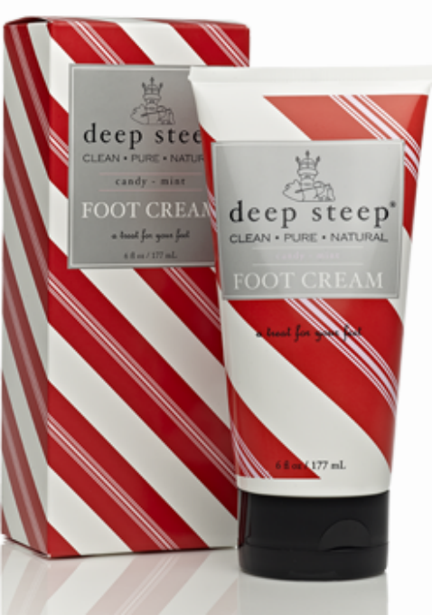 DEEP STEEP: Candy Mint Foot Gift Set-Foot Cream And Deodorizing Foot Mist 2 PC