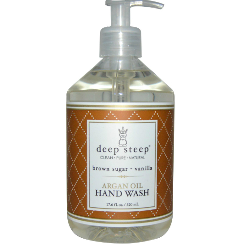 Argan Oil Liquid Hand Wash Brown Sugar Vanilla