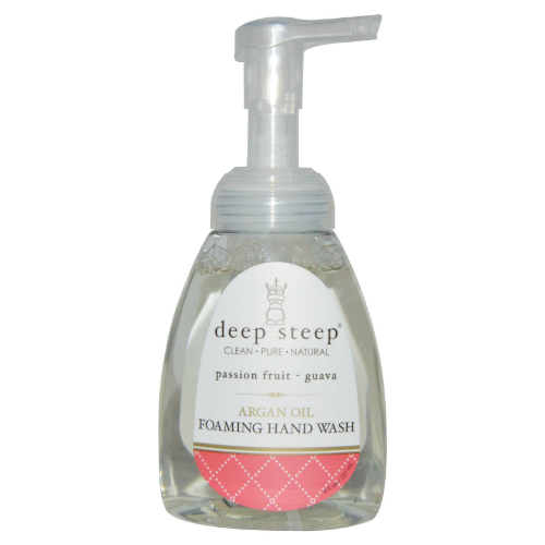 DEEP STEEP: Argan Oil Foaming Hand Wash Passion Fruit Guava 8 oz