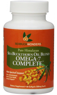 SEABUCKWONDERS: Sea Buckthorn Oil Blend Omega 7 Complete 60 softgel