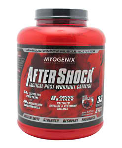 MYOGENIX: AFTERSHOCK FRUIT PUNCH 5.82 LBS