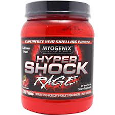 MYOGENIX: HYPERSHOCK RAGE CHERRY DECAF 40/SRV