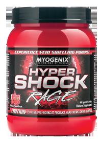 MYOGENIX: HYPERSHOCK RAGE FURIOUS FRUIT PUNCH 40/SRV