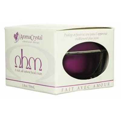 AROMA CRYSTAL THERAPY: Ohm Facial Cream 1.8 oz