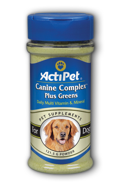 Canine Complex Plus Greens Dietary Supplement