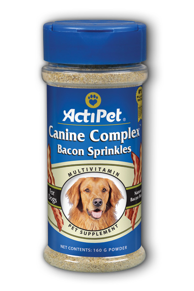 Canine Complex Bacon Sprinkles Dietary Supplement