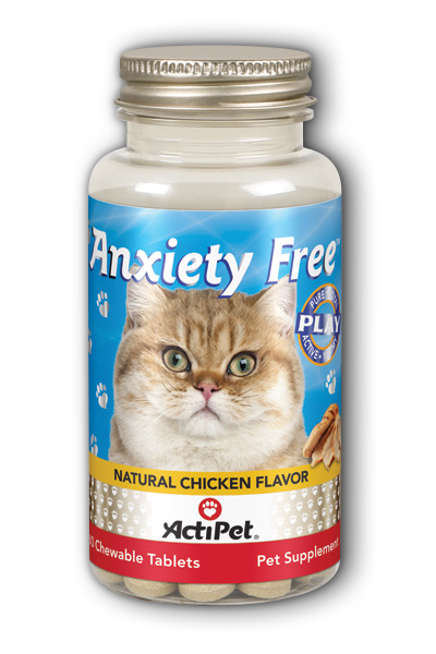 Anxiety Free for Cats Dietary Supplement