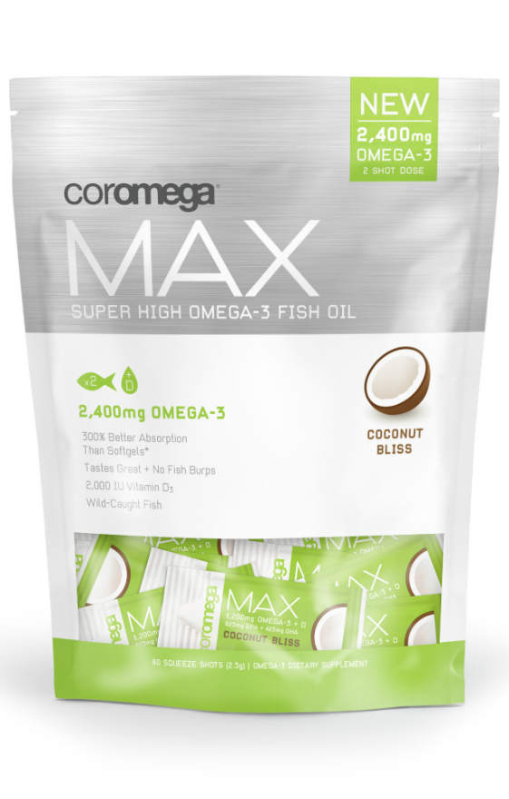 Max Coconut Burst High Omega 3