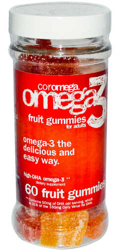 Omega 3 Gummy Fruits For Adults