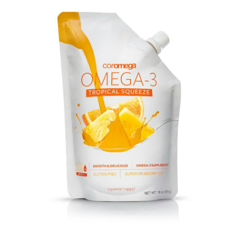 Omega 3 Tropical Squeeze