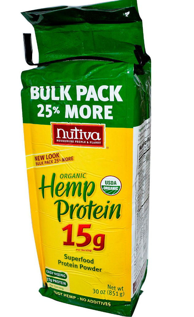NUTIVA: Hemp Protein Powder 15gm 30 oz