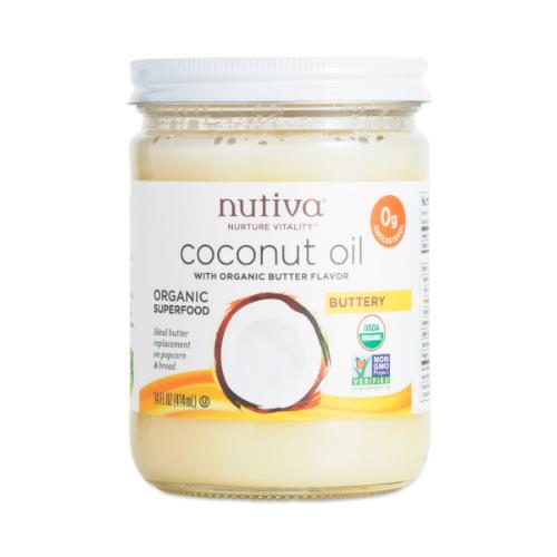 Organic Buttery Coconut Oil 14 oz