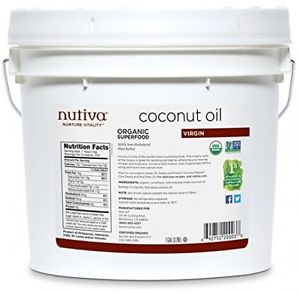 Organic Extra Virgin Coconut Oil (Pail), 1 GAL
