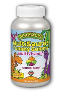 KAL: MultiSaurus Yummy Gummy (Citrus Berry) 120 ct