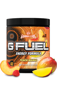 G FUEL PEACH MANGO