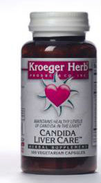 KROEGER HERB PRODUCTS: Candida Liver Care 100 cap vegi