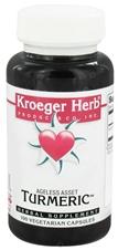 KROEGER HERB PRODUCTS: Tumeric 100 capvegi