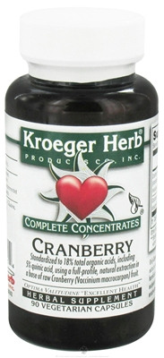 Kroeger Herb cranberry complete concentrate
