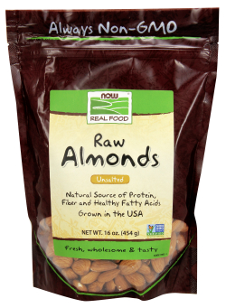 Almonds Natural Unblanched, 1 LB
