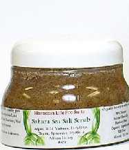 MOROCCAN LIFE PRODUCTS: Sahara Sea Salt Scrub 8 oz