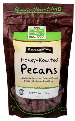 Honey Roasted Pecans, 8 oz