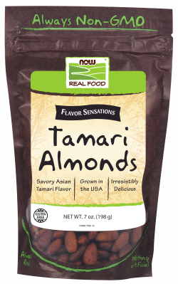 TAMARI ALMONDS, 7 OZ