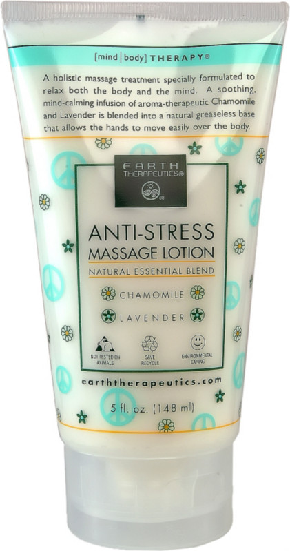 Anti Stress Massage Lotion 5 oz from EARTH THERAPEUTICS