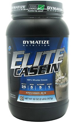 ELITE CASEIN CINNAMON BUN 2LB from Dymatize