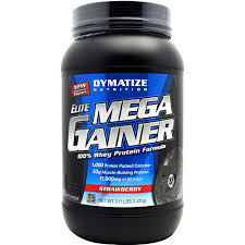DYMATIZE: ELITE MEGA GAINER STRAWBERRY 10/SRV