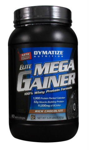 DYMATIZE: ELITE MEGA GAINER CHOCOLATE 10/SRV