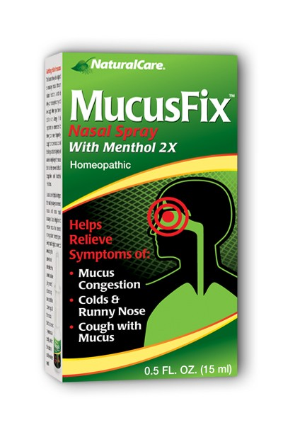 NATURALCARE PRODUCTS INC: MucusFix Nasal Spray 0.5 oz
