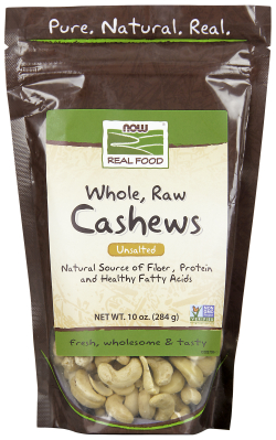 CASHEWS RAW, 10 OZ