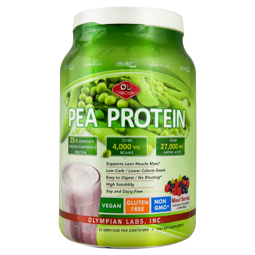 OLYMPIAN LABS: Pea Protein Berry Large 820 gm