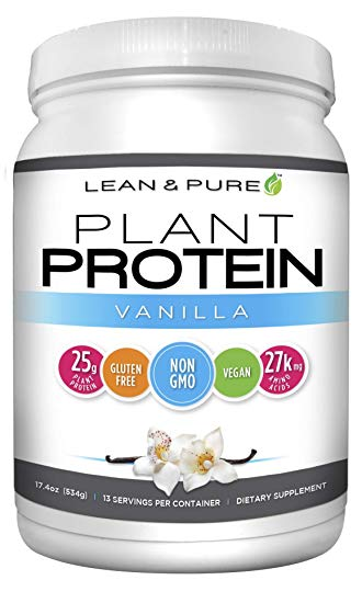 OLYMPIAN LABS: Plant Protein - Vanilla 1.4 lb