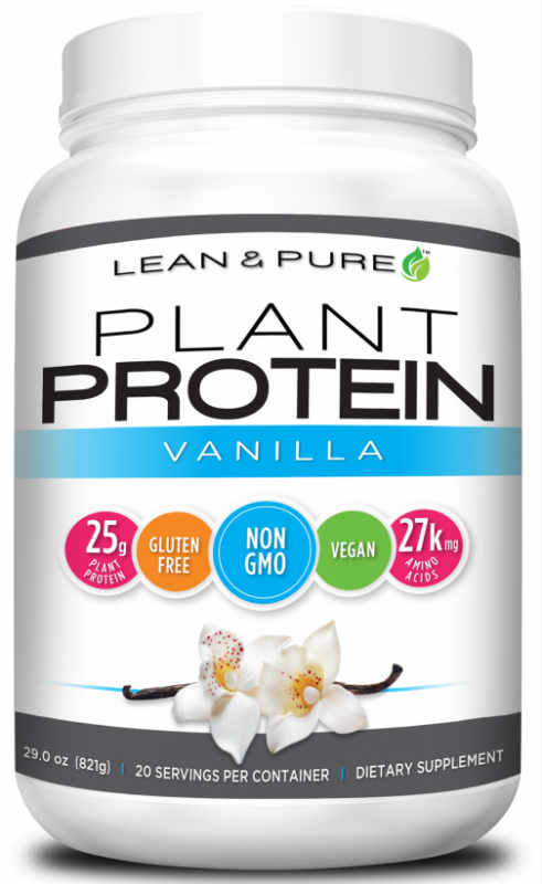 OLYMPIAN LABS: Plant Protein - Vanilla (Large) 1.92 lb
