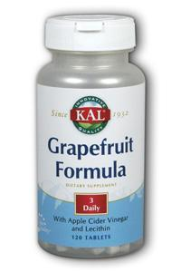 Kal: Grapefruit Formula 120ct
