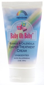 Rainbow Research: Baby oh,diaper trtmnt crm 2 OZ