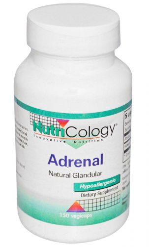 Adrenal Natural Glandular, 150 cap