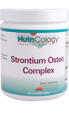 NUTRICOLOGY: Strontium Osteo Chewable 180 ct