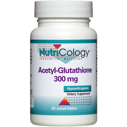 NUTRICOLOGY: Acetyl-Glutathione 60 tablet