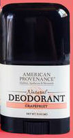 AMERICAN PROVENANCE: Grapefruit Deodorant .5 OZ