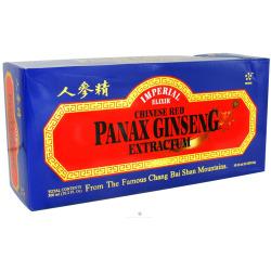 IMPERIAL ELIXIR/GINSENG COMPANY: Chinese Red Panax Ginseng Extractum - Vials 30x10cc