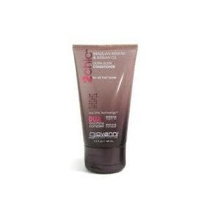GIOVANNI COSMETICS: 2chic Brazilian Keratin And Argan Oil Ultra-Sleek Conditioner Travel Size 1.5 oz