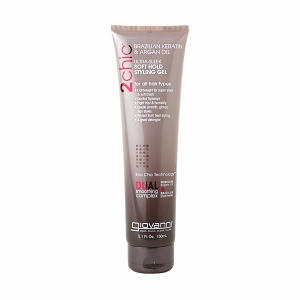 GIOVANNI COSMETICS: 2chic Brazilian Keratin And Argan Oil Ultra-Sleek Soft Hold Styling Gel 5.1 oz