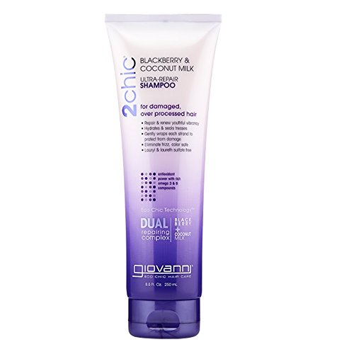 GIOVANNI COSMETICS: 2chic Ultra Repair Shampoo with Blackberry & Coconut Milk 8.5 oz