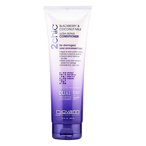 GIOVANNI COSMETICS: 2chic Ultra Repair Conditioner with Blackberry & Coconut Milk 8.5 oz