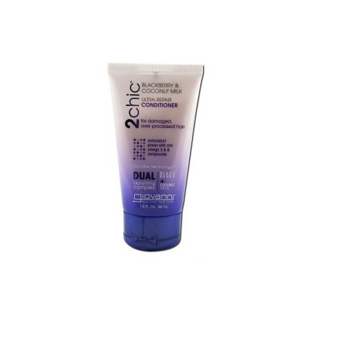 GIOVANNI COSMETICS: 2chic Ultra Repair Conditioner with Blackberry & Coconut Milk Travel Size 1.5 oz