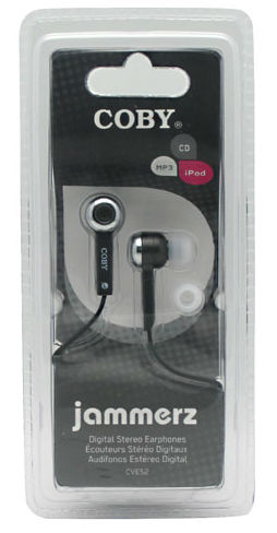 PARAMOUNT PRODUCTS GROUP: iHARMONIX EARPHONES COBY CVE 52 1 Unit