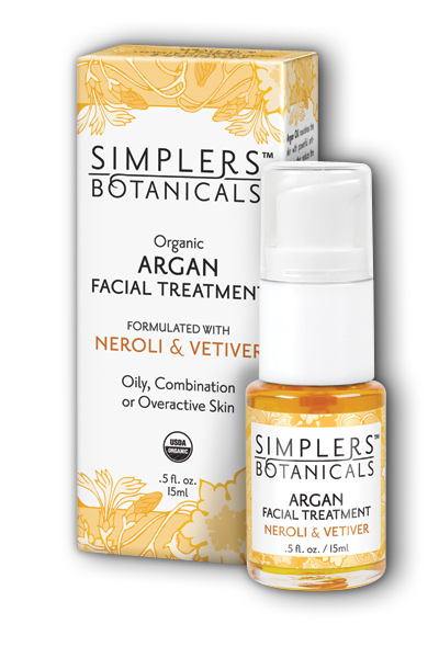 Neroli And Vetiver Argan Facial Treatment Organic 15 ml from Living Flower Essences