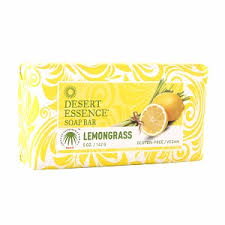 DESERT ESSENCE: Bar Soap Lemongrass 5 oz